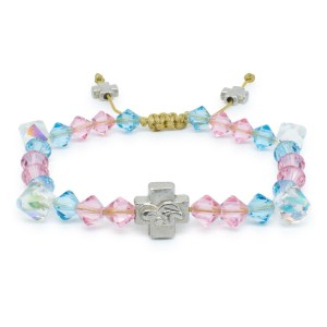 "Swarovski Crystal Prayer Bracelet ""Lara""-0"