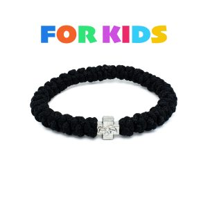 Black Prayer Bracelet for Kids