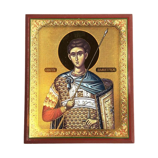 Saint Demetrios Orthodox Icon