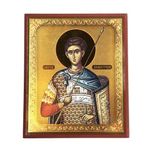 Saint Demetrios Orthodox Icon