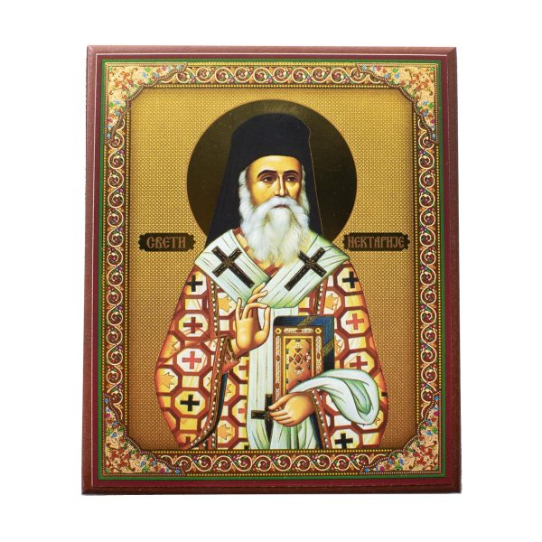 Saint Nectarios Orthodox Icon