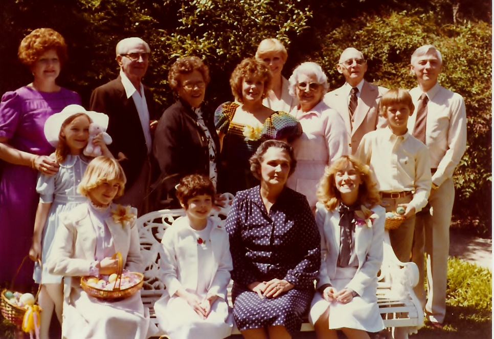 Easter 1982 - our Family