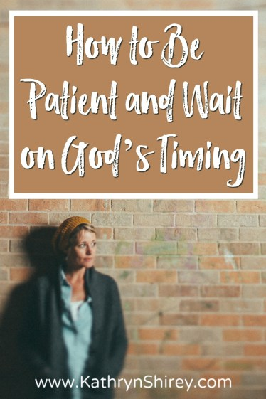 Are you in a season of waiting? Finding hard to wait on God's timing to move you into the next season? Use these 5 solutions to find patience as you wait on God's timing. Fill your season of waiting with hope and joy as you persevere through this season.