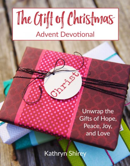 The Gift of Christmas Advent Devotional- Open the best gifts this Christmas - the gifts of God's hope, peace, joy, and love in this daily Advent devotional.