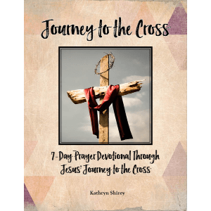 Journey to the Cross - a 7-day prayer devotional through the week leading to Easter.