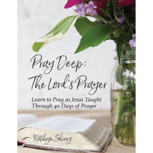 Pray Deep: The Lord's Prayer - Go deeper in your study of the Lord's Prayer with this 40-day devotional, praying through the Lord's Prayer line-by-line. Learn to pray as Jesus taught and experience the fullness of this well-known prayer.
