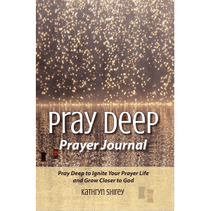 Pray Deep Journal - Blank prayer journal to record your prayers and God's responses. Includes a prayer request tracker and reference guide outlining 24 different methods for prayer.