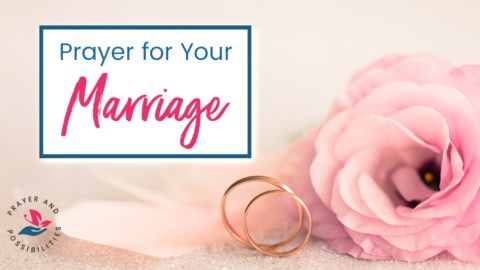 A daily prayer for your marriage. Pray for God to help you develop a mature, lasting love that endures all things and never ends.