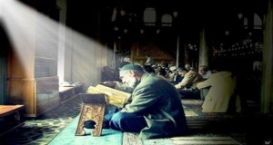 Some people are remembering Allah waiting for the prayer.