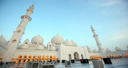 Sheikh Zaid Mosque.