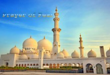 Sheikh Zayed's Mosque in the UAE.