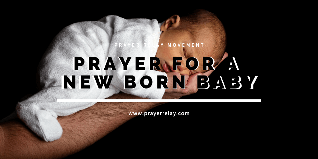 Prayer for a new born baby-2