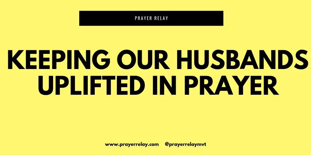 pray for your husband tweet image