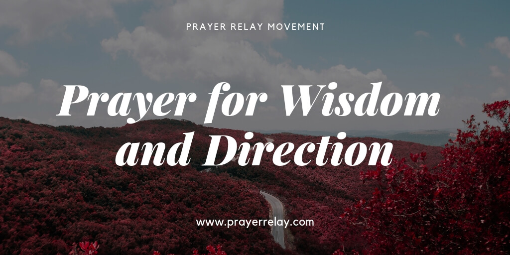 Prayer for Wisdom and Direction