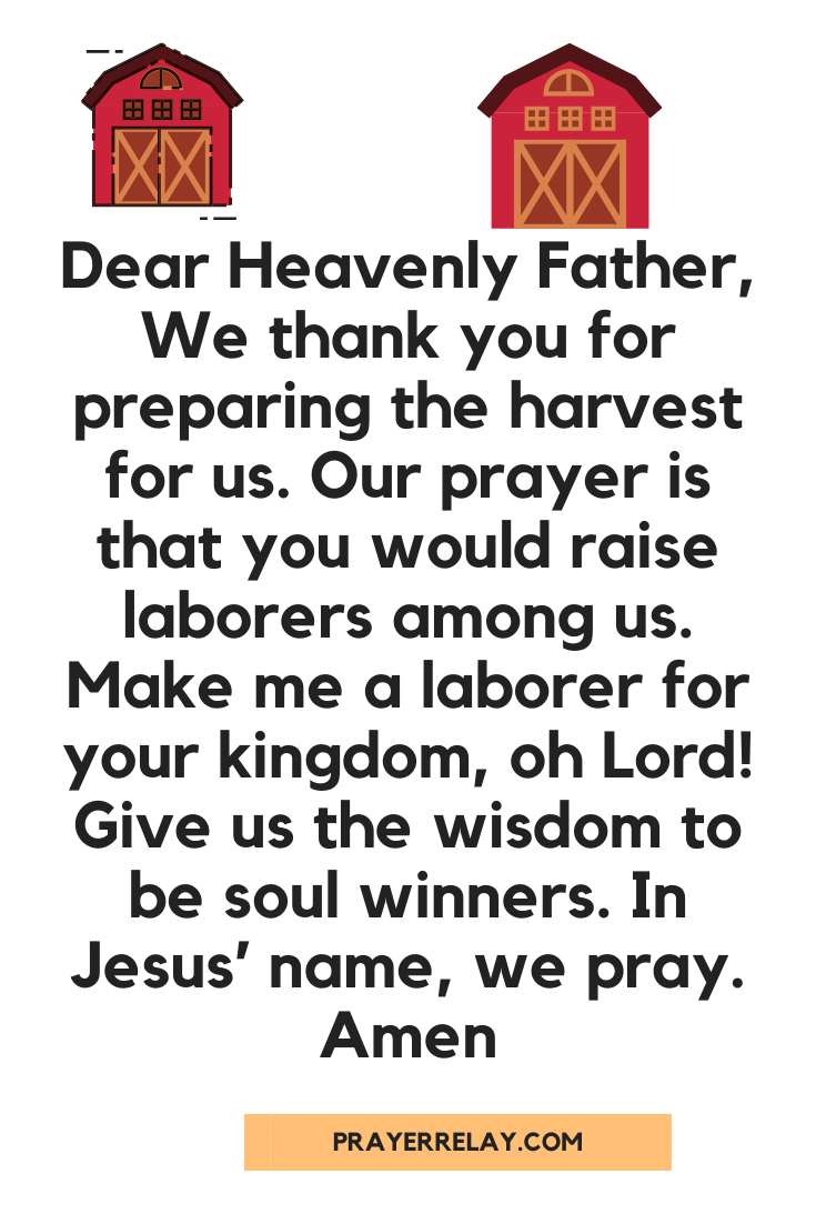Prayer for Church Growth 1