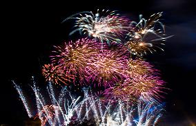 MFM prayer fireworks