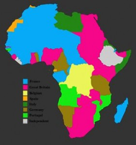 africa colonised