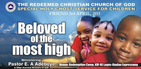 April 2011 Holy Ghost Service