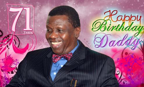 71st birthday of pastor adeboye
