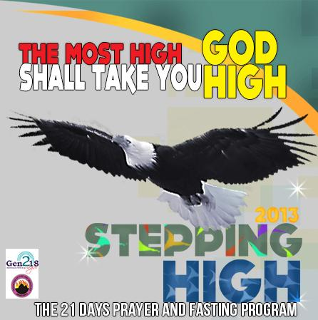 Stepping High Prayer & Fasting for Singles MFM Gen218 Programme