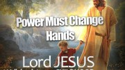 Power Must Change Hands September 2013