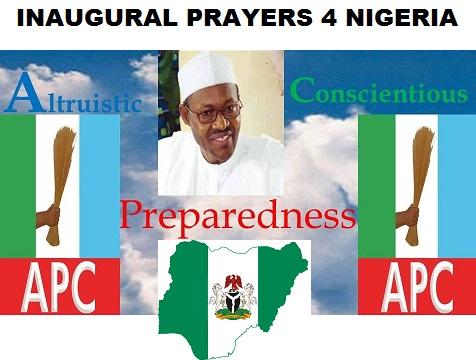 INAUGURAL PRAYERS FOR NIGERIA