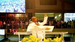 Bishop David Oyedepo of Winners Chapel