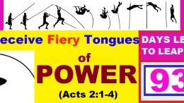 LEAP YEAR 2016 Timeline Prayers - I RECEIVE FIERY TONGUES OF POWER