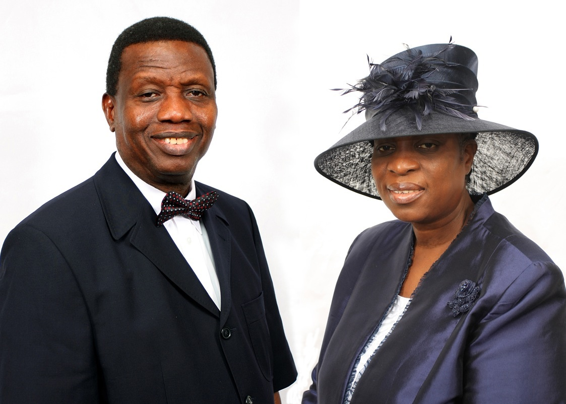 Pastor E. A. Adeboye and Wife