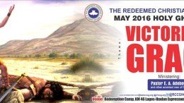 MAY 2016 RCCG Holy Ghost Service