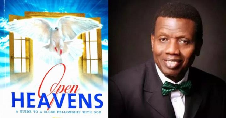Open Heavens By Pastor E. A. Adeboye