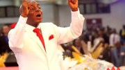 Bishop David Oyedepo prophesies with unction at Faith Tabernacle