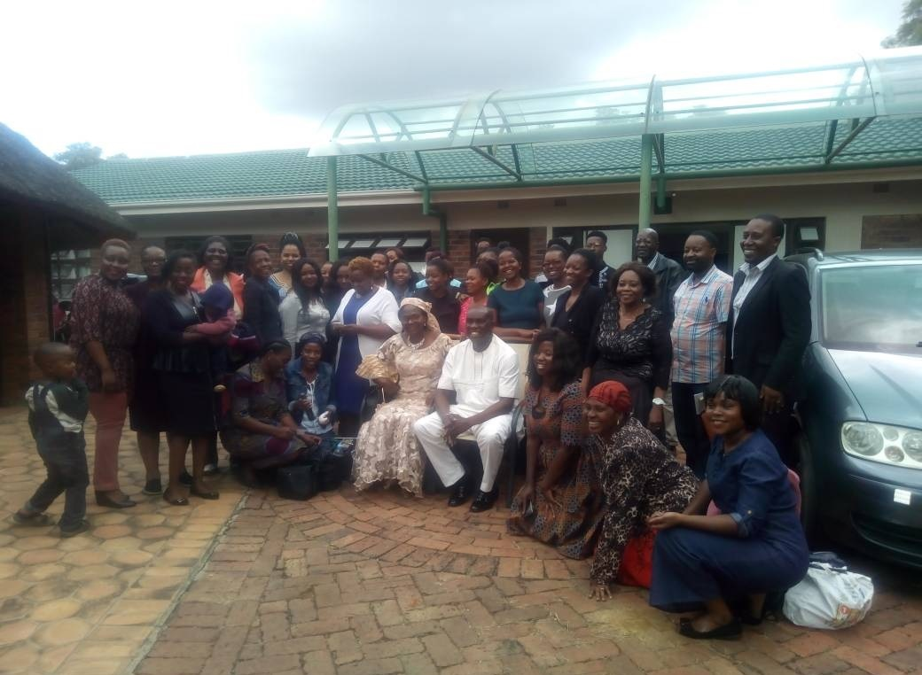 ZIMBABWE RDT 31 GROUP PHOTOGRAPH
