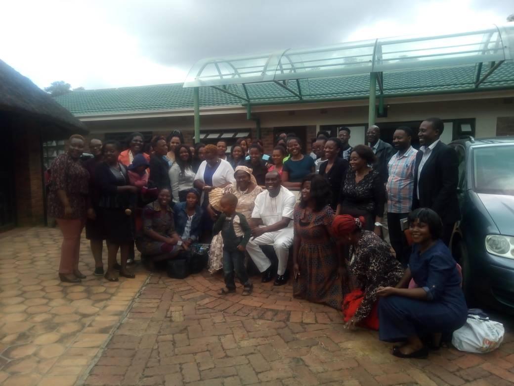 ZIMBABWE RDT 36 GROUP PHOTOGRAPH
