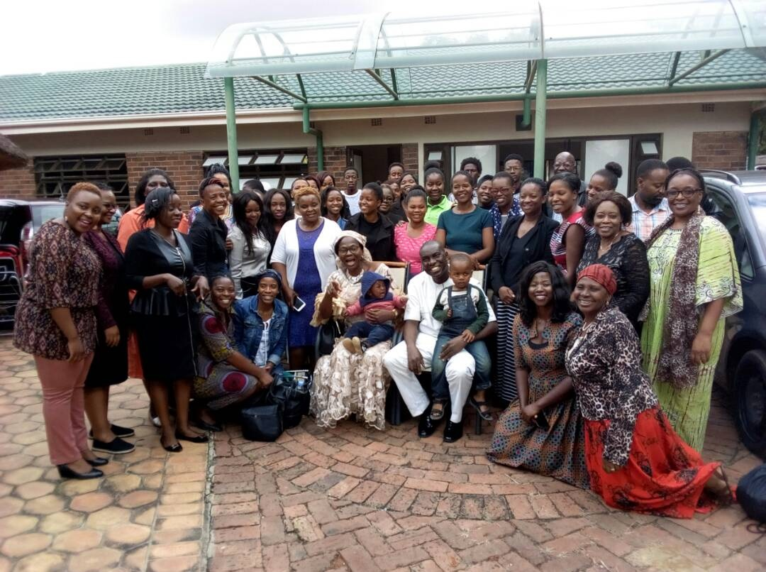 ZIMBABWE RDT 9 GROUP PHOTOGRAPH