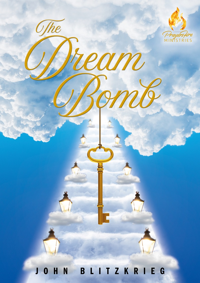 THE DREAM BOMB BOOK COVER PAGE