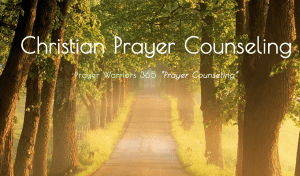 Christain Prayer Counseling