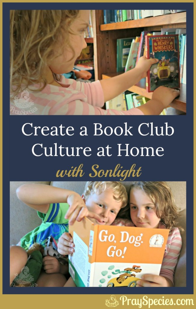 Build your homeschool on faith and quality literature. Be a family that reads!