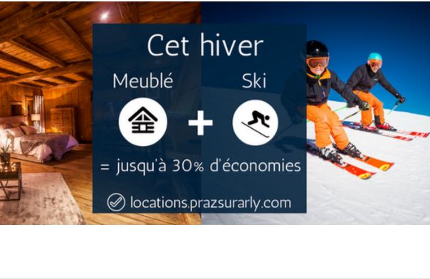 up to 30 reduction on your furnished rental skipass office de tourisme de praz sur arly