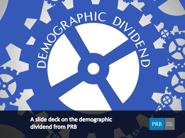 demographic dividend powerpoint slide deck population reference bureau