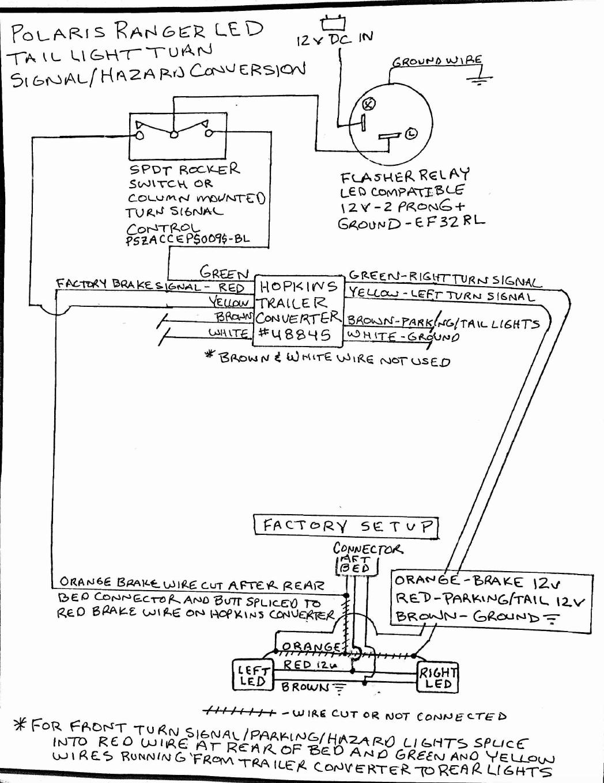 Utilizing the stock led s as turn signal brake hazard lights rh prc polaris winch wiring diagram polaris sportsman 500 wiring diagram