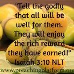 Quote : God's Reward