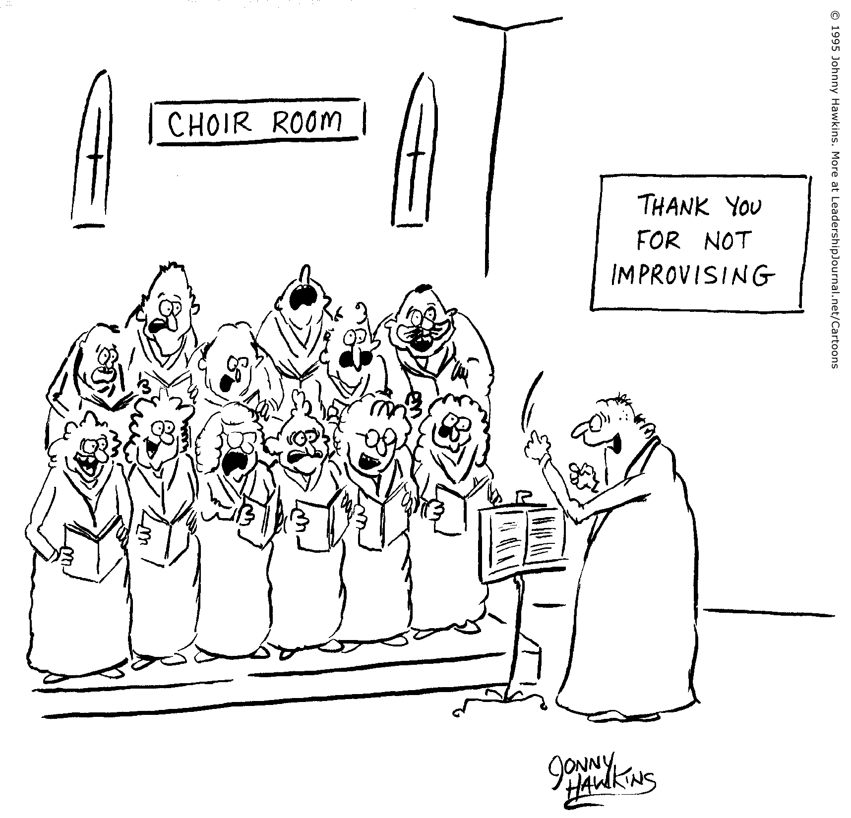 Improvising Forbidden In Choir