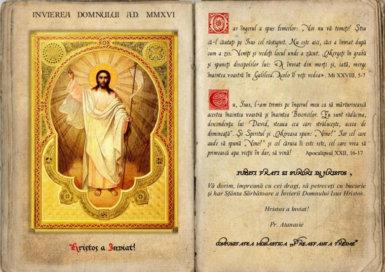 Hristos a inviat!