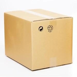 Caja carton kraft