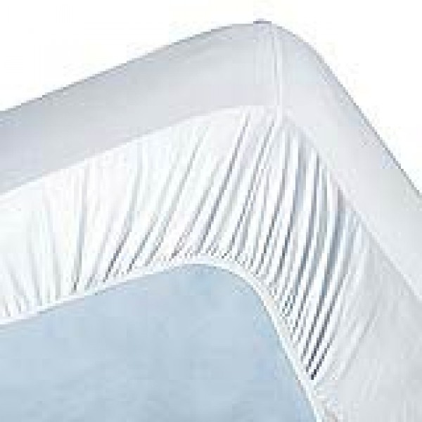500tc Pima Cotton 1 Ply Olympic Queen Fitted Sheet Only