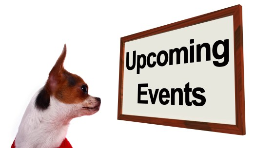 Upcoming Events Sign Shows Future Occasions Schedule For Dogs Site