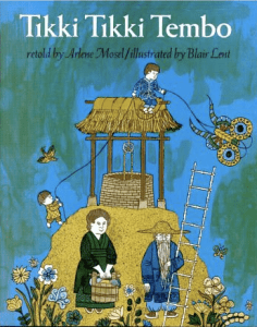 Cover art for Tikki Tikki Tembo