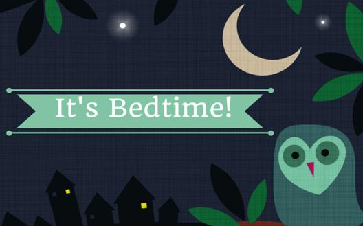 bedtime and baby sleep