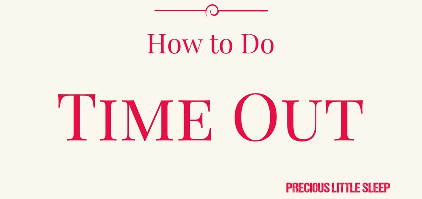 how to do toddler time out